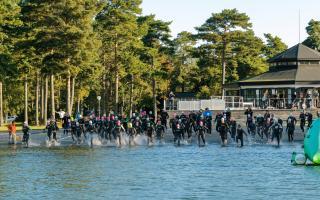 Rikligt med idrottsevenemang. Käringsund Triathlon
