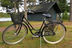 3- växlad cykel. Fås även med barnstol.