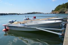 Båt med motor