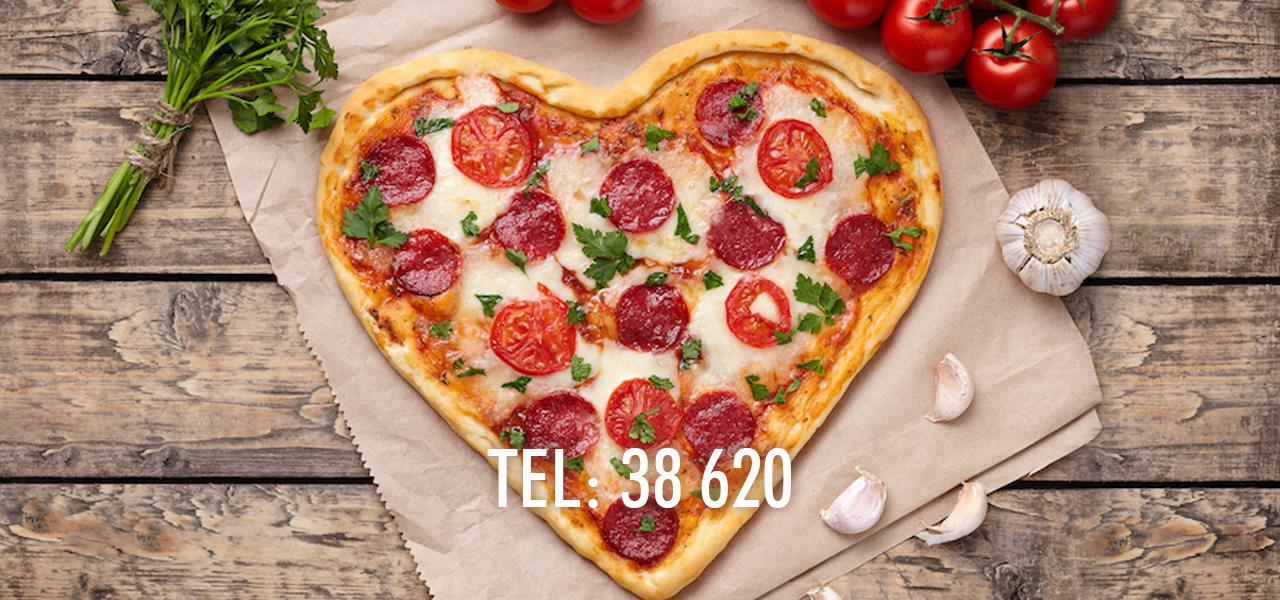 Takeaway pizza hela våren!