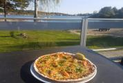 Pizza with a view