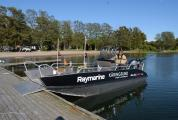 Alucat catamaran also for wheelchairs
