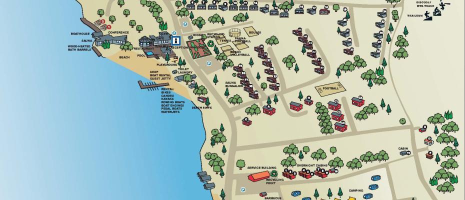 Käringsund map of resort