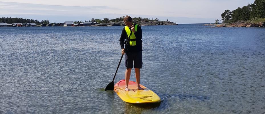 SUP, kanot, trampbåt, roddbåt, vattenskoter eller kajak - valet är ditt