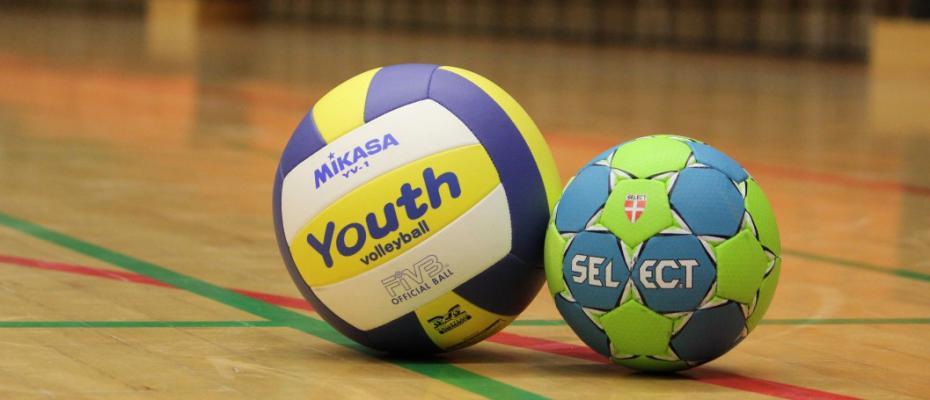Volleyboll och Handboll